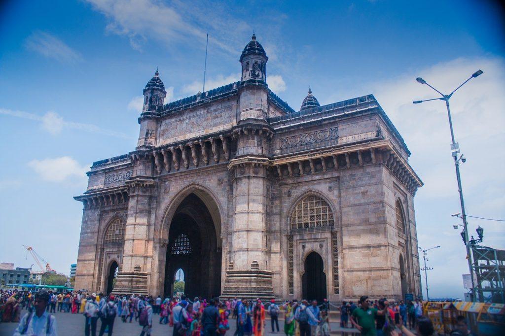 La porte de l'Inde à Bombay