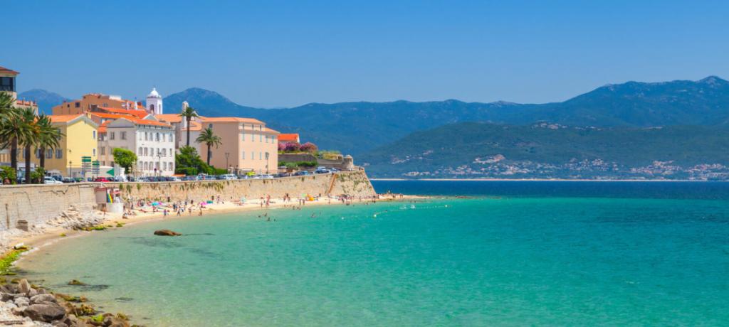 Ajaccio, plage de Saint François