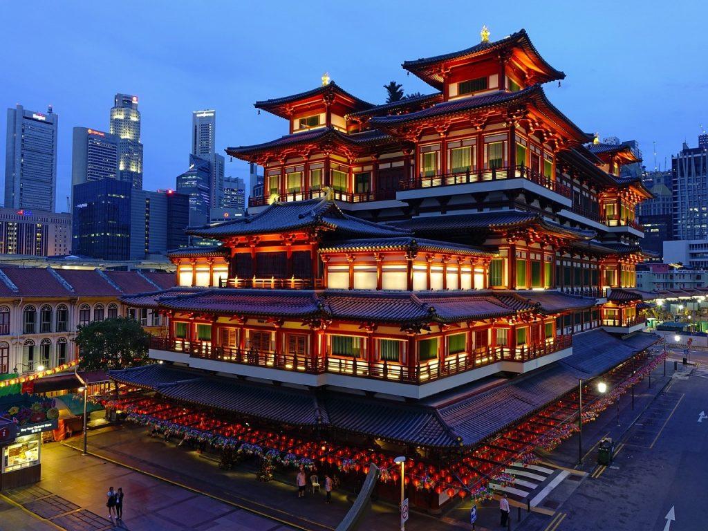 temple à Singapour