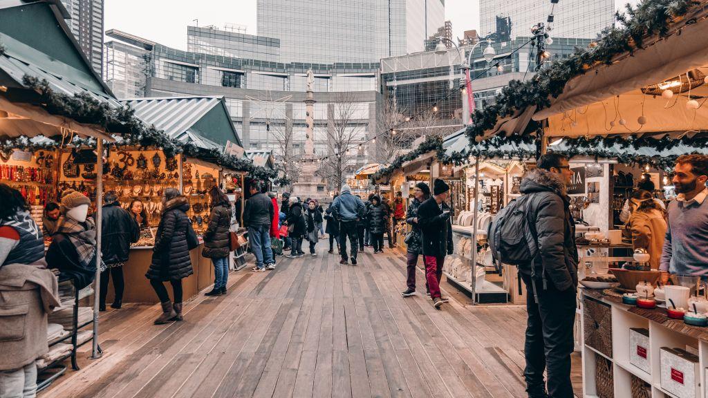 Découvrir New York en plein hiver et faire du shopping