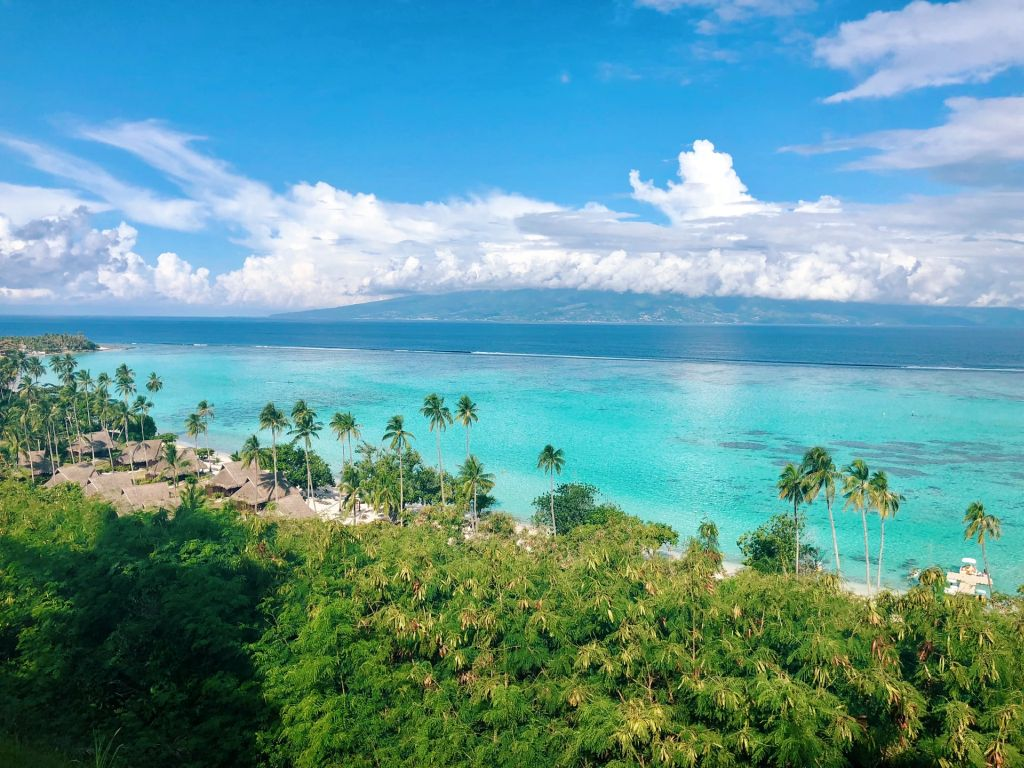 Plages et lagon Polynésie